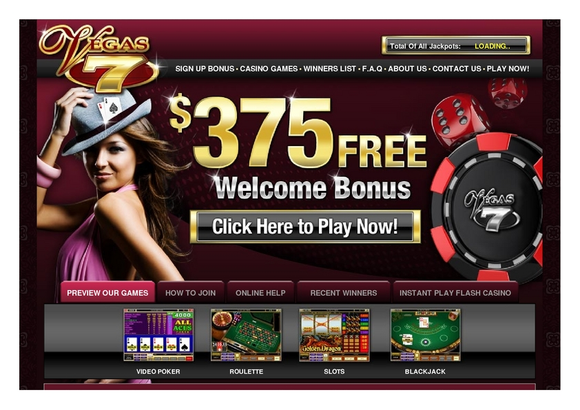 Vegas Seven review on Free Slot Reviews
