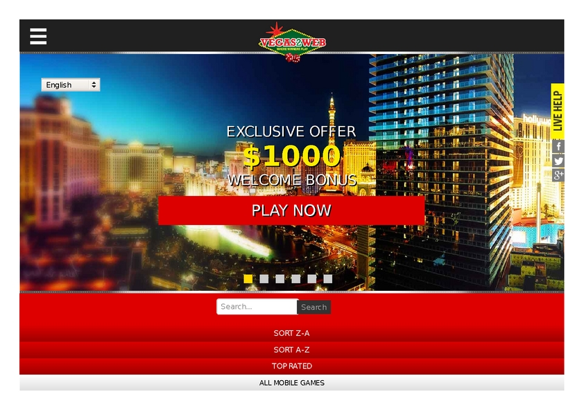 Vegas2Web review on Free Slot Reviews
