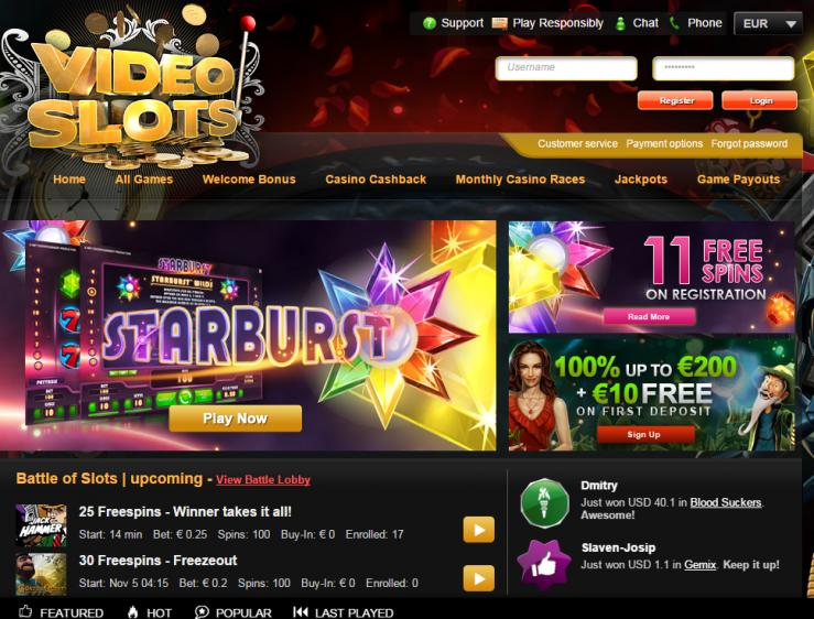 Video Slots review on Free Slot Reviews