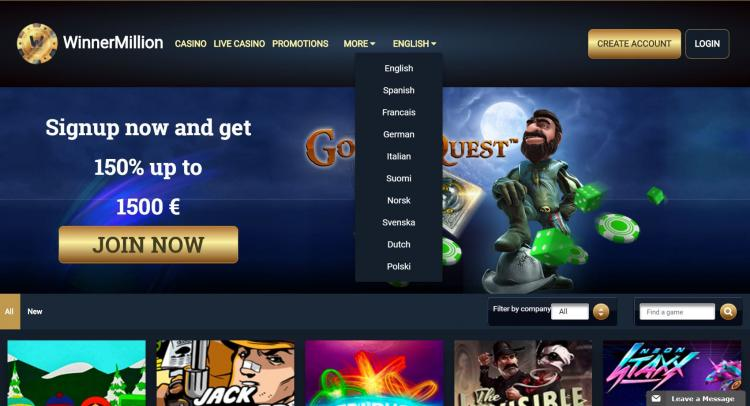 Winner Million review on Free Slot Reviews