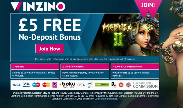 Winzino review on Free Slot Reviews