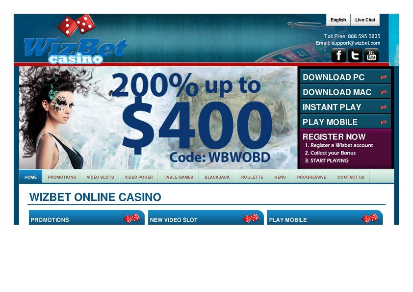 Wizbet review on Free Slot Reviews